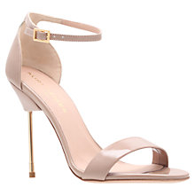 Buy Kurt Geiger Belgravia Heeled Sandals, Nude Online at johnlewis.com