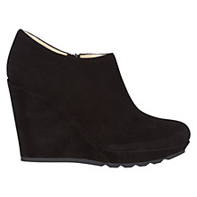 Buy Hobbs London Grace Ankle Boots, Black Online at johnlewis.com