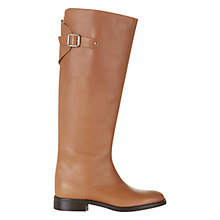 Buy Hobbs Gillie Longboot Knee Boots, Tan Online at johnlewis.com