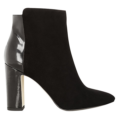 Buy Hobbs London Ruthie Ankle Boots, Black Online at johnlewis.com