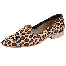 Buy Somerset by Alice Temperley Berkely Pony Hair Loafers, Leopard Online at johnlewis.com