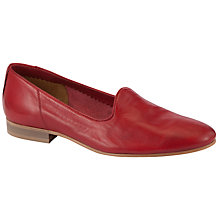 Buy Somerset by Alice Temperley Forton Leather Loafers, Red Online at johnlewis.com