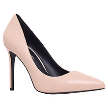 Buy Kurt Geiger Bailey Leather Pointed Court Shoes Online at johnlewis.com