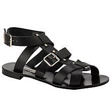 Buy Somerset by Alice Temperley Gordano Leather Gladiator Sandals Online at johnlewis.com
