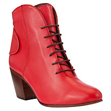 Buy Somerset by Alice Temperley Ashcott Tab Detail Lace Up Ankle Boots Online at johnlewis.com