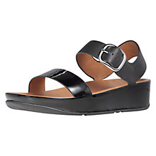 Buy FitFlop Bon Sandals, Black Online at johnlewis.com