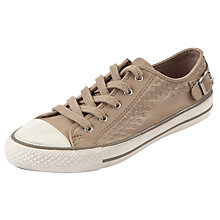 Buy Ash Virgo Leather Trainers, Taupe Online at johnlewis.com
