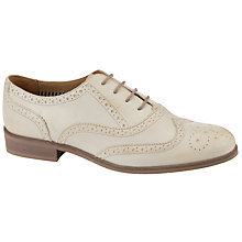 Buy Somerset by Alice Temperley Draycott Leather Brogues, Off White Online at johnlewis.com