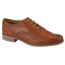 Buy Somerset by Alice Temperley Laverton Wingtip Women's Brogues, Tan Online at johnlewis.com