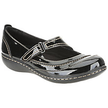 Buy Clarks Embrace Chat Casual Shoes, Black Online at johnlewis.com