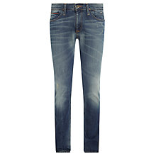 Buy Hilfiger Denim Scanton Slim Fit Jeans, Faded Blue Online at johnlewis.com