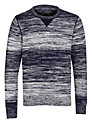 Tommy Hilfiger Maddock Crew Neck Cotton Jumper, Evening Blue