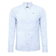 Buy Hilfiger Denim Thomas Pinstripe Shirt, Blue/White Online at johnlewis.com