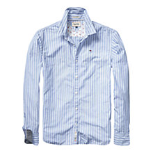 Buy Hilfiger Denim Thomas Striped Shirt, Sky Blue Online at johnlewis.com