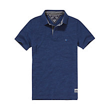 Buy Tommy Hilfiger Lance Polo Short Sleeve Shirt, Navy Online at johnlewis.com