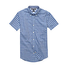 Buy Tommy Hilfiger Renzo Check Short Sleeve Shirt Online at johnlewis.com