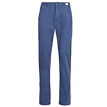 Buy Tommy Hilfiger Mercer Straight Fit Chinos, Insignia Blue Online at johnlewis.com