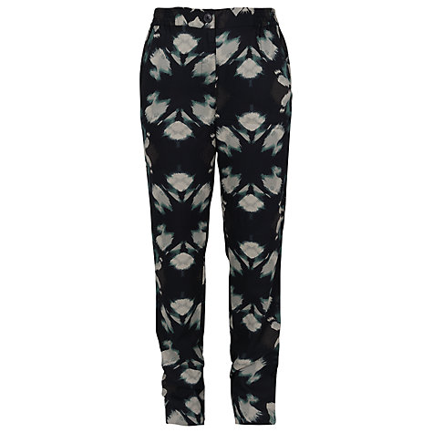 Buy French Connection Popsicle Block Trousers, Green Combo Online at johnlewis.com