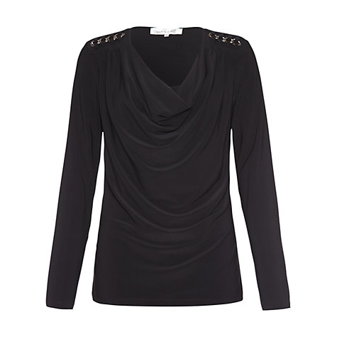Buy Damsel in a dress Link Chain Top, Black Online at johnlewis.com