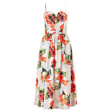 Buy John Lewis Print Prom Dress, Multi Online at johnlewis.com