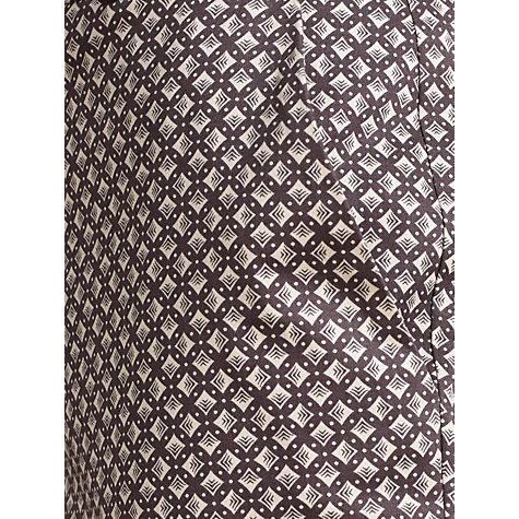 Buy Somerset by Alice Temperley Geometric Square Trousers, Grey Online at johnlewis.com