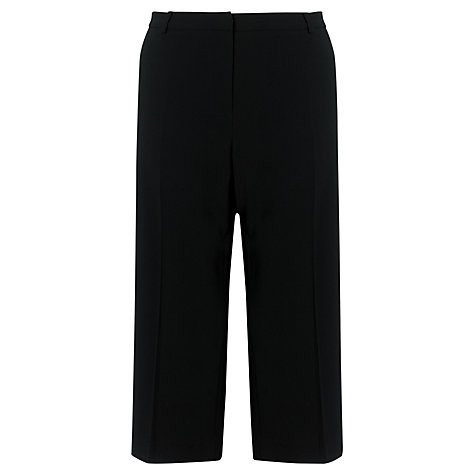 Buy COLLECTION by John Lewis Selina Cropped Trousers, Black Online at johnlewis.com