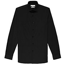 Buy Reiss Zinc Stretch Poplin Long Sleeve Shirt Online at johnlewis.com