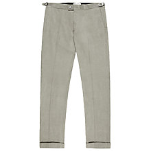 Buy Reiss Chapel Cord Trousers, Light Grey Online at johnlewis.com