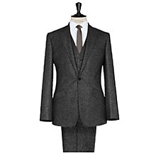 Buy Reiss Napoli Geo Print Suit, Dark Grey Online at johnlewis.com