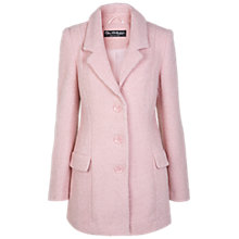 Buy Miss Selfridge Wool-blend Boyfriend Coat, Pink Online at johnlewis.com