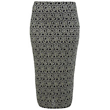 Buy Miss Selfridge Glitter Shimmer Tube Skirt, Gold Online at johnlewis.com