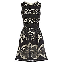 Buy Warehouse Printed Lace Dress Online at johnlewis.com