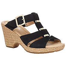 Buy Gabor Courage Leather Open Toe Slip On Online at johnlewis.com