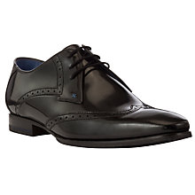 Buy Oliver Sweeney Argyle Hi-Shine Brogue Derby Shoes Online at johnlewis.com