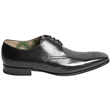 Buy Oliver Sweeney Hanover Leather Gibson Shoes, Black Online at johnlewis.com