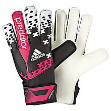 Buy Adidas Predator Young Pro Goalkeeper Gloves, Black/Pink/White Online at johnlewis.com