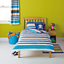 Buy little home at John Lewis Waves & Whales Striped Duvet Cover and Pillowcase Set Online at johnlewis.com