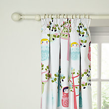 Buy little home at John Lewis Dots & Dolls Dolly Pencil Pleat Blackout Lined Curtains Online at johnlewis.com