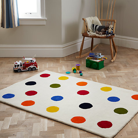 Buy little home at John Lewis Spot Rug Online at johnlewis.com