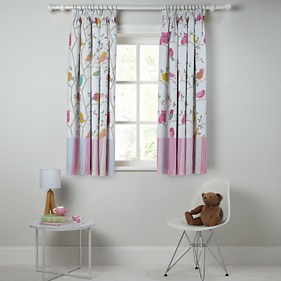 Harlequin What A Hoot Pencil Pleat Blackout Lined Curtains