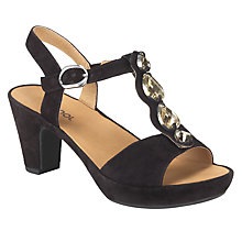 Buy Gabor Suede Zando Sandals Online at johnlewis.com