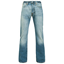 Buy Levi's 501 Original Straight Leg Tapered Jeans, Homestead Online at johnlewis.com