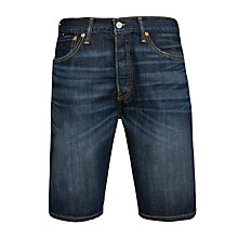 Buy Levi's 501 Hemmed Denim Shorts, Blue Online at johnlewis.com