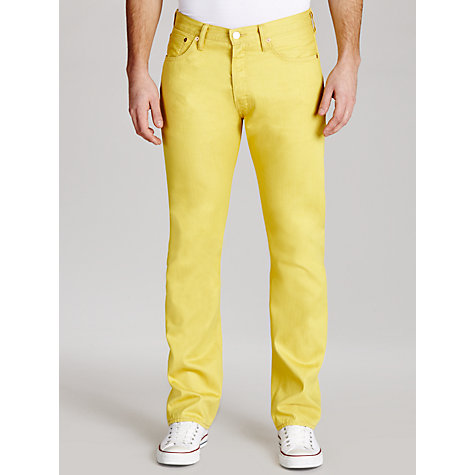 Buy Levi's 501 Straight Leg Tapered Jeans Online at johnlewis.com