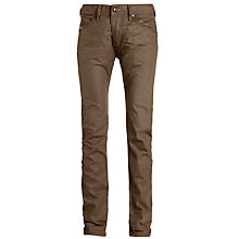 Buy Diesel Belther Regular Slim Fit Jeans, Coffee Online at johnlewis.com