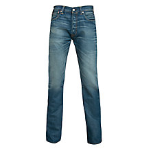Buy Levi's 501 Straight Fit Tapered Jeans, Thermo Innovation Online at johnlewis.com