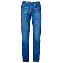 Buy Levi's 513 Slim Straight Jeans, Hot Blue Online at johnlewis.com