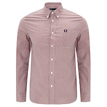Buy Fred Perry Three Colour Gingham Shirt Online at johnlewis.com