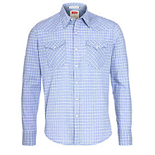 Buy Levi's Barstow Short Sleeve Western Shirt, French Lavender Online at johnlewis.com