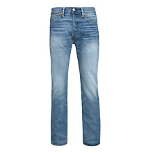 Buy Levi's 501 Straight Leg Tapered Jeans, Cast Iron Online at johnlewis.com